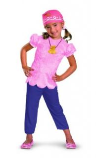 Disney Jake And The Neverland Pirates Izzy Classic Costume Clothing