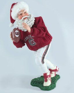 Clothtique Possible Dreams University South Carolina Football Santa   Holiday Figurines