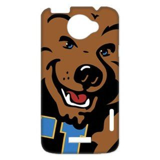NCAA UCLA Bruins Logo for HTC One X+ Durable Plastic Case Creative New Life Cell Phones & Accessories