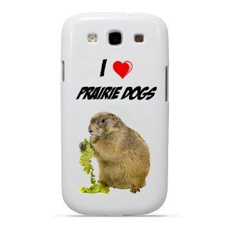 SudysAccessories I Love Heart Prairie Dogs Samsung Galaxy S3 Case S III Case i9300   SoftShell Full Plastic Snap On Graphic Case Cell Phones & Accessories