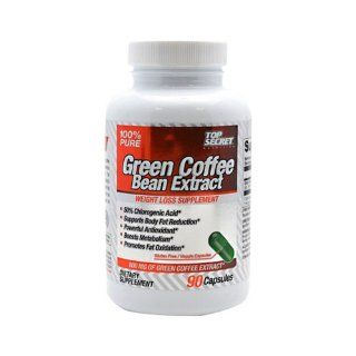 Top Secret Nutrition Green Coffee Bean Extract   90 capsules   HSG 1203397 Health & Personal Care
