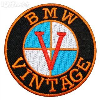 BMW Vintage Retro Classic Motorcycle Bikes Patch Iron on Sew Applique Embroidered patches