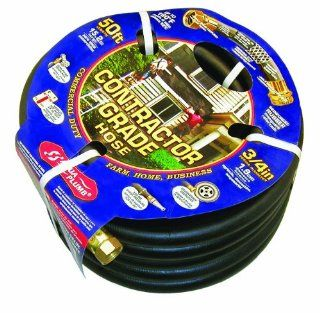 Aqua Plumb Contractor Grade Rubber Hose for Lawn and Garden, 50 Feet  Patio, Lawn & Garden