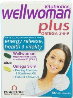 Wellwoman Plus Tablets 56 Capsules Health & Personal Care