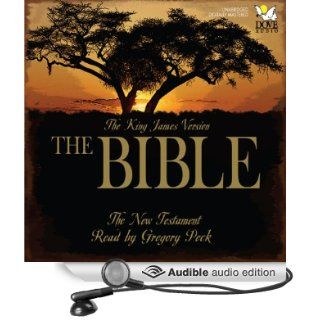 The Bible The New Testament The King James Version (Audible Audio Edition) Phoenix Audio, Gregory Peck Books