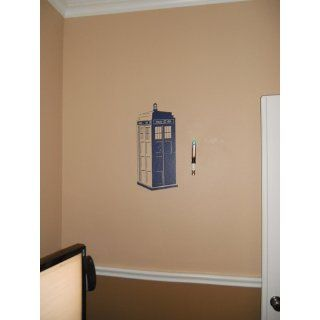 Phone Booth Tardis Doctor Who   Police Box Vinyl Wall Art Decal Stickers Decor Graphics