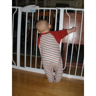 Regalo Extra Wide 58 Inch WideSpan Walk Through Safety Gate, White  Indoor Safety Gates  Baby