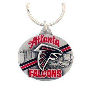 Atlanta Falcons NFL Pewter Key Ring  Sports Related Key Chains  Sports & Outdoors