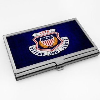 Business Card Holder with U.S. Army Adjutant General Corps regimental insignia