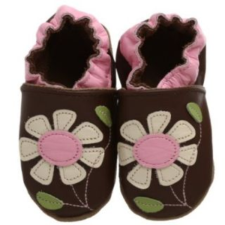 Robeez Soft Soles Pretty Petals Gift Set (Infant/Toddler), Brown, 0 6 Months (1 2 M US Infant) Shoes