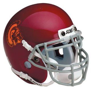NCAA USC Trojans Replica Helmet  Sports Related Collectible Full Sized Helmets  Sports & Outdoors