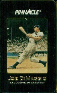 Joe DiMaggio Exclusive 30 Card Set  Sports Related Trading Cards  Sports & Outdoors