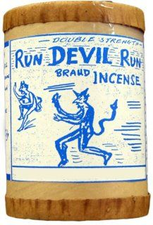 High Quality Run Devil Run Powdered Incense 4 oz.   Stick Incense