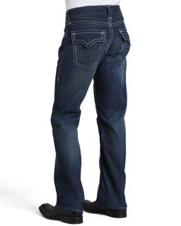 Mens Billy Boot Cut Jeans, Blue   True Religion   Bily grey/Blue (33)