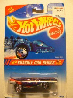 Hot Wheels Krackle Car Series Turboa #2 of 4 Factory Error Card Says #1 of 4