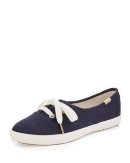 Keds canvas pointer sneaker, navy   kate spade new york   Navy (40.0B/10.0B)