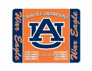 NCAA Auburn Tigers SEC Champions 2010 with War Eagle & Logo Full Color Print Deskpad  Sports Fan Office Desk Pads And Blotters  Sports & Outdoors
