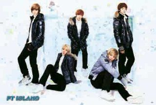 F.T. Island horiz POSTER 34 x 23.5 musical notes Korean boy band FTI FT Five Treasure (sent from USA in PVC pipe)  Prints