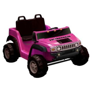 National Products LTD. Hummer H2 Two Seater Battery Powered Riding Toy   Pink