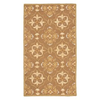 Safavieh Chelsea HK376C Area Rug   Brown/Green   Area Rugs