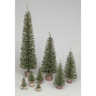 Vickerman 4 ft. Carmel Pine Unlit Slim Christmas Tree