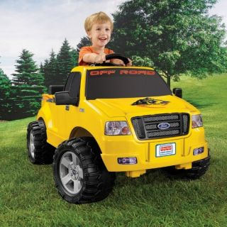 Fisher Price Power Wheels Lil F150 Truck Battery Powered Riding Toy   Battery Powered Riding Toys