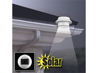 2 Pack Rethink Solar Weather Resistant LED Lights for Gutters, Walls or Posts!