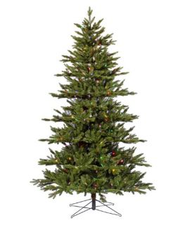 7.5 ft. Noble Fir Medium Pre lit Multi LED Christmas Tree
