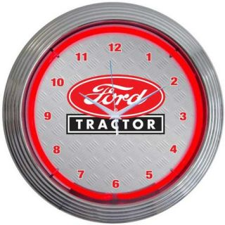 Neonetics 15'' Ford Tractor Wall Clock