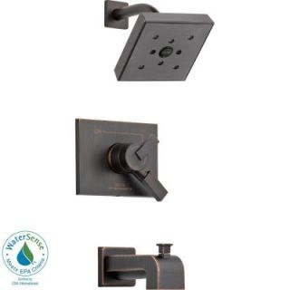 Delta Vero 1 Handle H2Okinetic Tub and Shower Faucet Trim Kit in Venetian Bronze (Valve Not Included) T17453 RBH2O