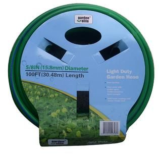Garden Elite  5/8 in. x 100 ft. Light Duty Hose