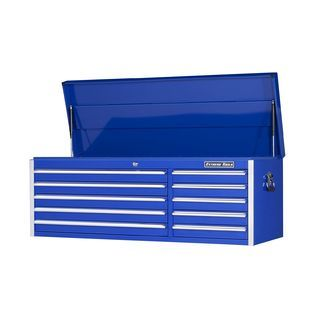 Extreme Tools 56 10 Drawer Standard Top Chest in Blue   Tools   Tool