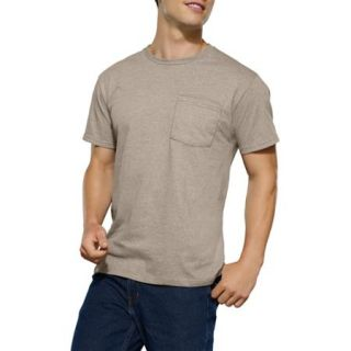 Fruit of the Loom Big Men's Assorted Color Pocket Tees, 4 Pack