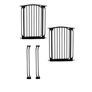 Dreambaby Chelsea Tall Swing Closed Security Gate Extra Value Pack