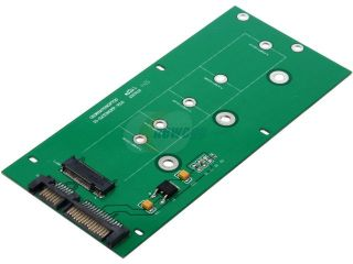 SYBA M.2 NGFF to SATAIII Card with Full & Low Profile Brackets Model SI ADA40084