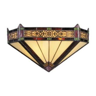 Titan Lighting Filigree 2 Light Aged Bronze Sconce TN 10007