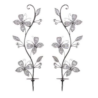 Hazelwood Home Decorative Metal Sconce