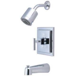 Elements of Design Claremont Single Handle Tub and Shower Faucet