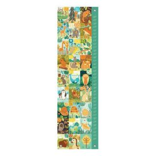 Oopsy Daisy A through Z Animals Growth Chart