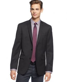 Bar III Black Texture Sport Coat Slim Fit