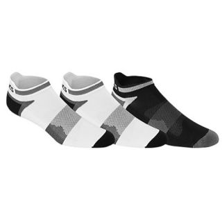 ASICS� Quick Lyte Single Tab 3 Pack Socks   Mens   Running   Accessories   White/Black