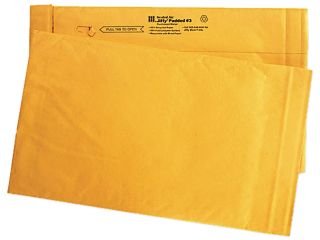 Sealed Air 49266 Heavy Duty Padded Mailer, 8 1/2 x 14 1/2, Gold, 100/Pack