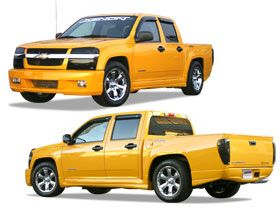 2004 2012 Chevy Colorado Full Body Kits   Xenon 12070   Xenon Full Body Kit