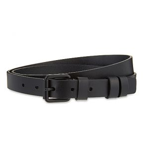 TROUBADOUR   Slim leather belt
