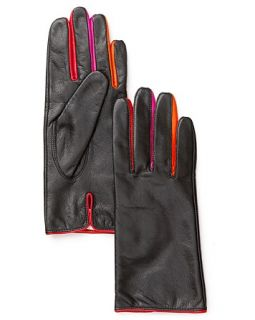 kate spade new york Multi Color Gusset Gloves