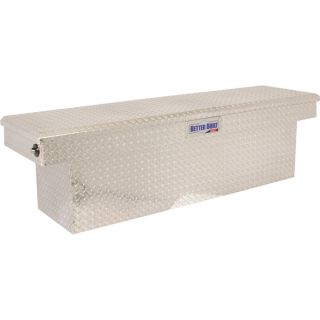 Better Built SEC Series X2 Aluminum Single-Lid Deep Tub Crossbed Truck Box — Diamond Plate, 69in.L x 20in.W x 19in.H  Crossbed Boxes