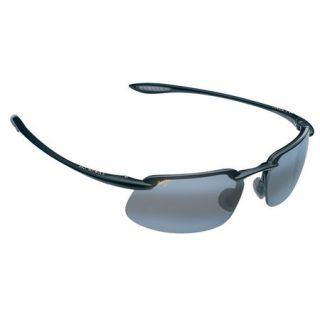 Maui Jim Kanaha Sunglasses   Gloss Black Frame with Neutral Grey Lens