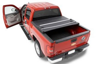 2004 2012 Chevy Colorado Folding Tonneau Covers   Bestop 16151 01   Bestop EZ Fold Tonneau Cover