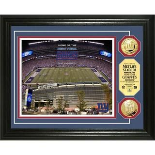 New York Giants MetLife Stadium Gold Coin Photo Mint