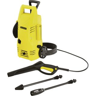 Karcher Electric Cold Water Pressure Washer — 1600 PSI, 1.3 GPM, Model# K2.26M